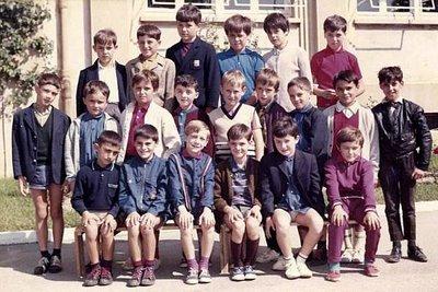 CM2, 1969-1970, Groupe scolaire Henri Wallon, Roussillon