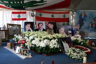 Beyrouth, Tombe Hariri - (c) Yves TRAYNARD 2005