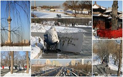 Pékin, tour CCTV, parc Yuyuantan et temple de l'Eternelle longévité (c) Yves Traynard 2010