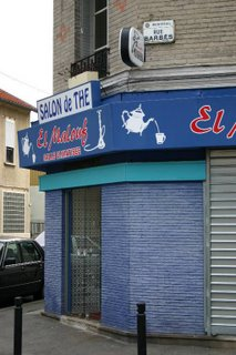 Montreuil, café el-Malouf (c) Yves TRAYNARD 2005