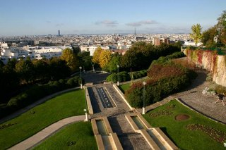Paris, Parc de Belleville (c) Yves TRAYNARD - 2005