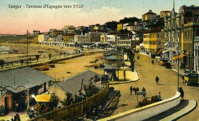 Tanger, Carte postale ancienne datée vers 1920