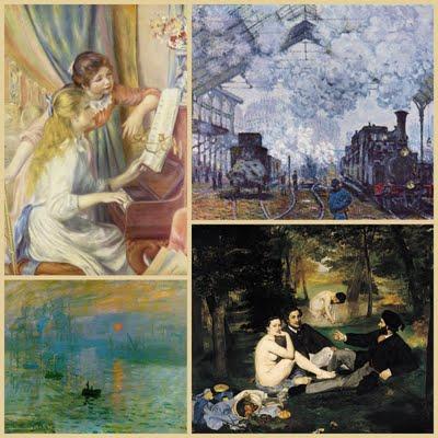 Impressionnisme, Manet, Monet, Renoir (c) Yves Traynard 2009