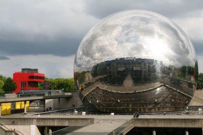 Paris, La Géode (c) Yves Traynard 2008