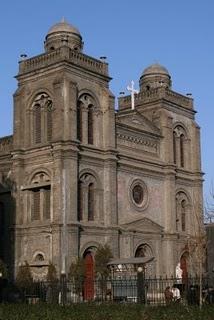 Baoding, La cathédrale (c) Yves Traynard 2009
