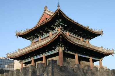 Baoding, Tour de la cloche, vue extérieure (c) Yves Traynard 2009