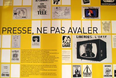 Paris, BNF, Expo Esprit(s) de mai (c) Yves Traynard 2008