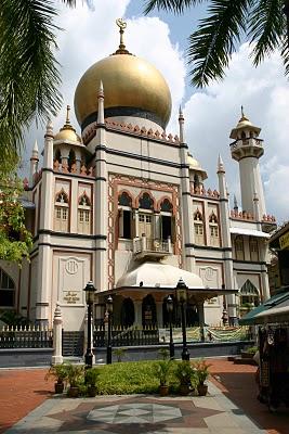 Singapour, Mosquée du sultan (c) Yves Traynard 2007