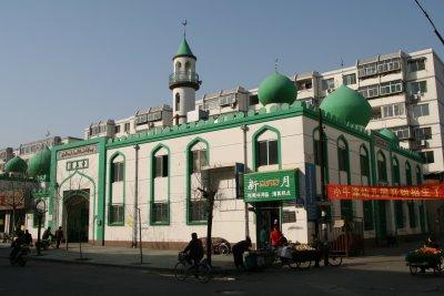 Baoding, Mosquée de Baoding (c) Yves Traynard 2009