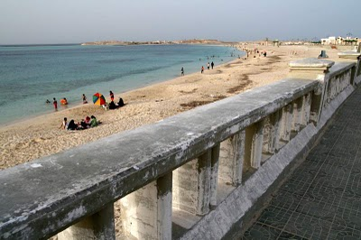Marsa Matrouh, La plage du Lido (c) Yves Traynard 2008