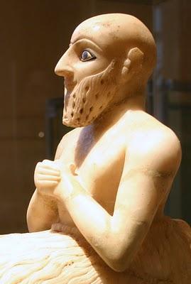 Paris, Louvre, Statue de l'intendant Ebih-Il (c) Yves Traynard 2007
