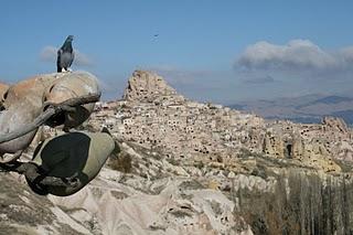 Cappadoce, Uçhisar (c) Yves Traynard 2007