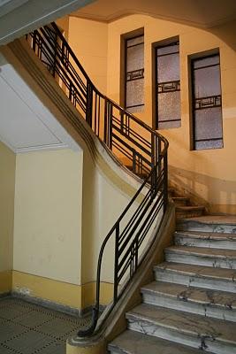 Alexandrie, Hôtel Crillon, Escalier (c) Yves Traynard 2008