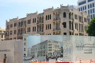 Beyrouth, Reconstruction (c) Yves Traynard 2005