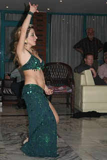 Pamuukkale, hôtel Hacili, danse du ventre (c) Yves Traynard 2007