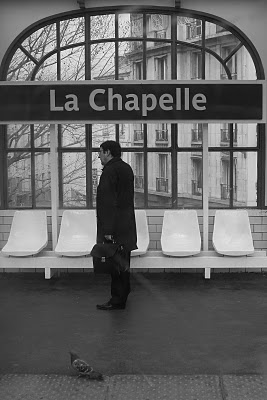 Paris, Station de métro La Chapelle (c) Yves Traynard 2008