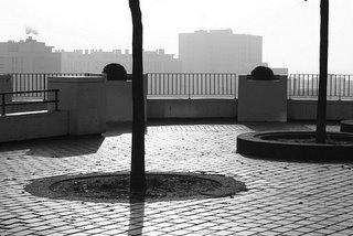 Paris, Rue Piat, Jardin de Belleville (c) Yves Traynard 2005