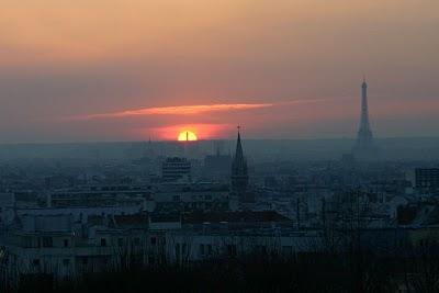 Paris, Parc de Belleville (c) Yves Traynard 2006