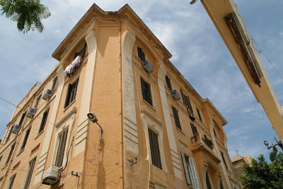 Alexandrie, Immeuble où vécut Constantin Cavafis (c) Yves Traynard  2008