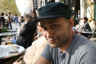Paris, Champs Elysées, Ashraf (c) Yves Traynard 2008