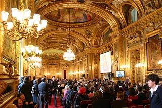 Paris, Sénat, Salle des Conférences (c) Yves Traynard 2007
