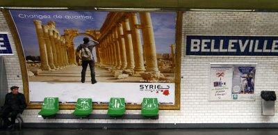 Paris, Campagne Syrie voyage (c) Yves Traynard 2008