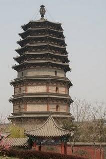 Zhengding, Pagode Lofty (dynastie Tang)(c) Yves Traynard 2009