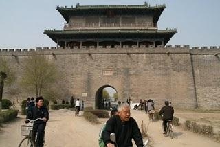 Zhengding, Porte sud (c) Yves Traynard 2009