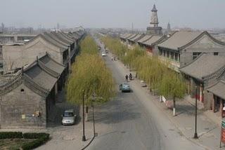 Zhengding, Rue historique (c) Yves Traynard 2009