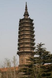 Zhengding, Pagode Chengling(c) Yves Traynard 2009
