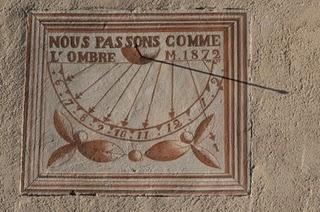 Bourg-Saint-Maurice, Cadran solaire de la chapelle du Villaret (c) Yves Traynard 2008