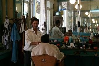 Port-Saïd, Salon de coiffure (c) Yves Traynard 2008