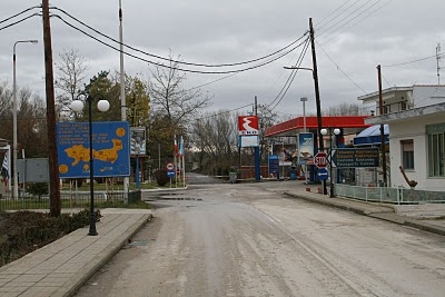 Kastanies, Poste frontière grec (c) Yves Traynard 2007