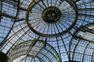 Paris, la verrière du Grand palais (c) Yves Traynard 2009