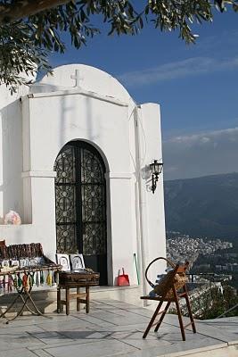 Athènes, Lycabette (c) Yves Traynard 2007