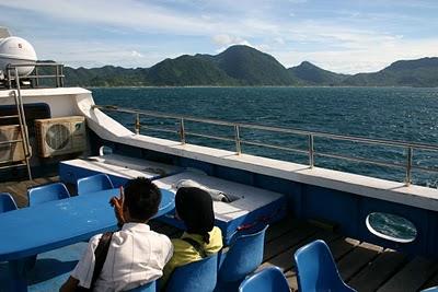Banda Aceh, Speed-Boat pour Pulau Weh (c) Yves Traynard 2007