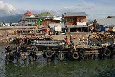 Banda Aceh, le port (c) Yves Traynard 2007