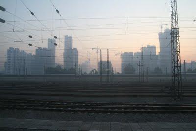 Shijiazhuang, la gare (c) Yves Traynard 2009