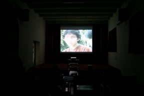 Yogyakarta, Fort Benteng Vredeburg, salle de cinéma (c) Yves Traynard 2007