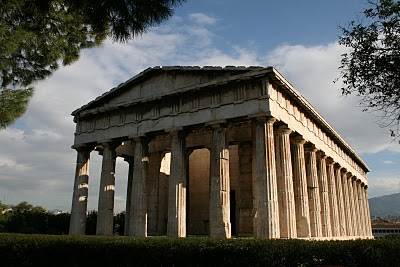 Athènes, Theseion (c) Yves Traynard 2007