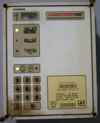 Maputo, Compteur électrique (c) Yves Traynard 2006