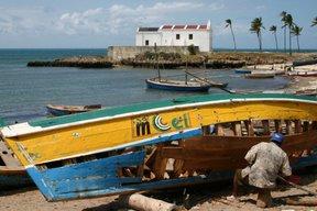 Ilha de Mozambique, port de pêche (c) Yves Traynard 2006