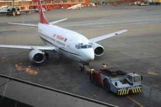Johannesburg, avion d'Air Malawi (c) Yves Traynard 2006