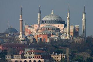 Istanbul, Sainte-Sophie (c) Yves Traynard 2006