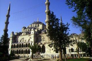 Istanbul, Mosquée bleue (c) Yves Traynard 2002