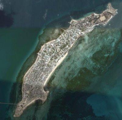 Ilha de Mozambique (c) Google Earth 2006