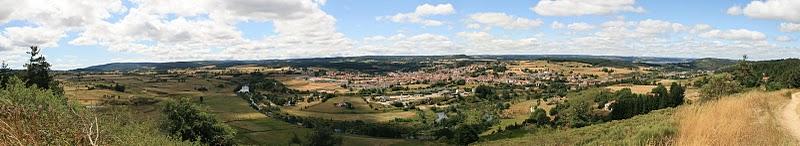 Langogne, Panorama (c) Yves Traynard 2009