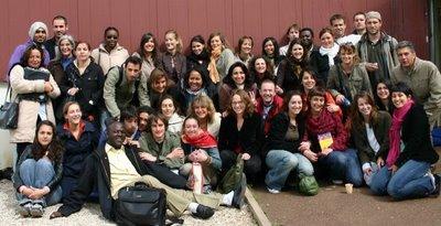 Créteil, Master 2 gestion de l'humanitaire, la promo (c) Yves Traynard 2006