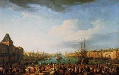 Des turbans marseille au xviiie si cle yves traynard - Le port de bordeaux par joseph vernet ...