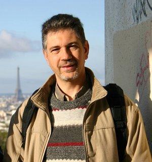 Paris, Parc de Belleville, Yves (c) Yves TRAYNARD - 2005